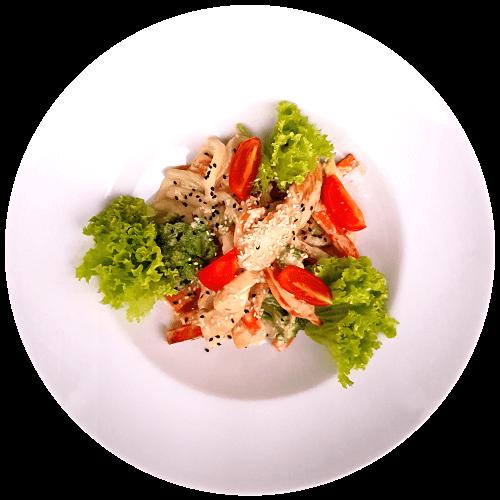 Куряче філе з овочами у вершковому соусі